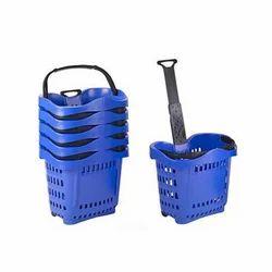 Wheel Shopping Basket
