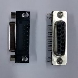 4-15- Pin- D Type- Female- PCB- M Connector