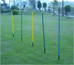 Rubber Base Spike Pole