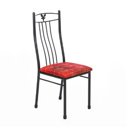 Metal Dining Chair ( WI Leaf Chair )