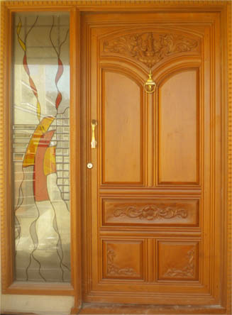 Door designer front doors for Teak wood doors in bangalore