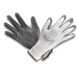 Seamless Nylon shell with NITRILE Coated Gloves-Premium