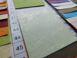 Printer Compatible Silk Fibre Handmade Papers