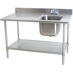 Stainless Steel Table Sink - SS Table Sink Latest Price ...