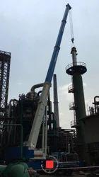 Telescopic Crane Rental Service