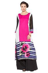 Stylish Designer Printed Long Kurti for Party wear