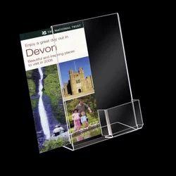 A4 Poster Holder with Leaflet Dispenser