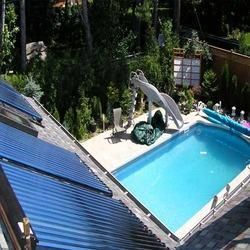 solar swimming pool heater