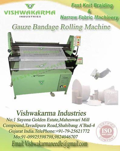 Surgical Gauze Bandage Rolling Machine