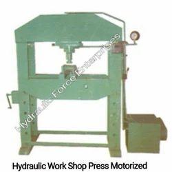 Hydraulic Work Shop Press Motorised