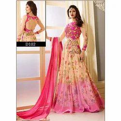 Designer Dress Semi Stitched Materials