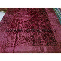 Designer Bed Sheets Brasso Velvet