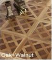 Oak Walnut Art Tiles