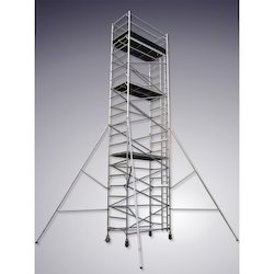 Single Width Scaffold with Stairway