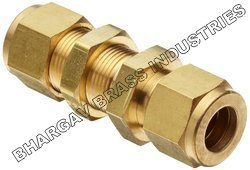 Brass Compression Tube Fitting