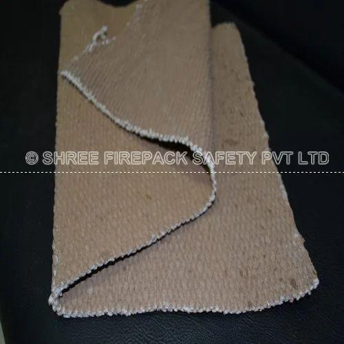 Vermiculate Coated Ceramic Cloth