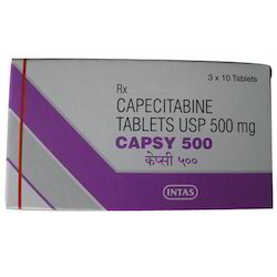 Capsy 500mg Tablet  Capecitabine