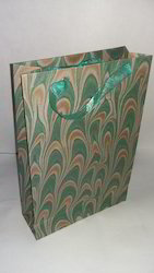 Marbling Hand Made Paper Bag