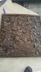 Teak Wood Carving