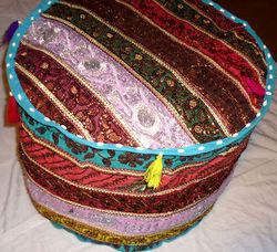 Indian Stool Pouf