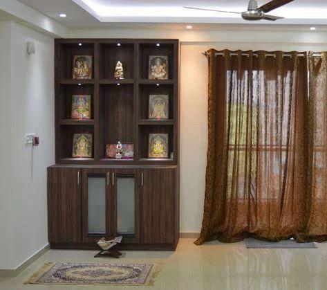 Wooden Pooja Temple Pooja Mandir And Temple Storage