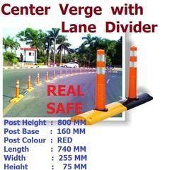 Center Verge with Lane Divider