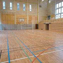 Multipurpose Wooden Court