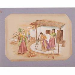 Village Paintings