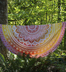Mandala Picnic Throw Mat