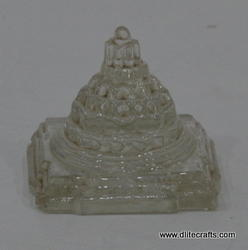 Glass Shree Yantra