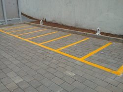 Thermoplastic Road Marking Painting Services Parking Slot Road
