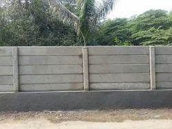 Solar Boundary Wall