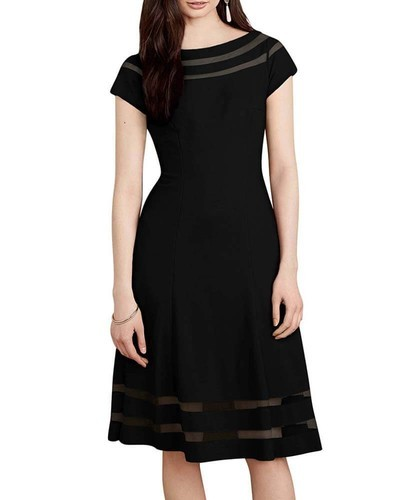 Plus Size Dresses Lurap Sheer Detail Dress Manufacturer From Gurgaon