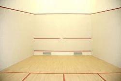 Flooring for Squash Court