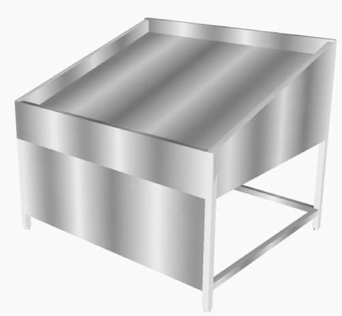 Bon Stainless Steel Fish Display U0026 Cleaning Table