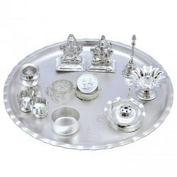 Silver Plated Pooja Thali in Delhi | Silver Plated Puja Thali Suppliers Dealers \u0026 Retailers in Delhi  sc 1 st  India Business Directory - IndiaMART & Silver Plated Pooja Thali in Delhi | Silver Plated Puja Thali ...
