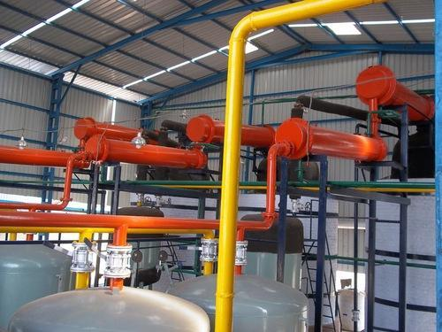 Used Lubricating Oil Recycling Plant