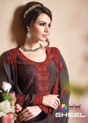 Georgette Embroidery Dupatta