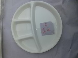 Acrylic 4 In 1 Round Plate