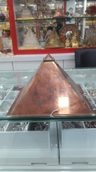 Hollow Copper Pyramid