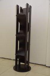 Sleek Tower Book Rack
