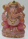 Beautiuful Rose Quartz Ganesha