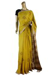 Heavy Embroidered Silk Sarees