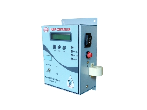 Pump Controller for Single and Three Phase Motor