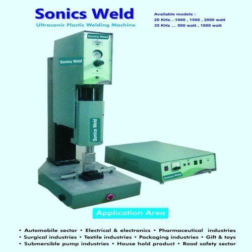 Ultrasonic Plastic Welder
