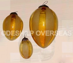 Yellow Christmas Ornaments