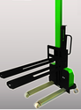 Battery Operated Self Loading Forklift