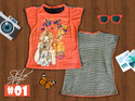 Girls Top - Style 2