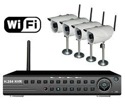 WiFi CCTV Camera Kit With 4 Ch.NVR