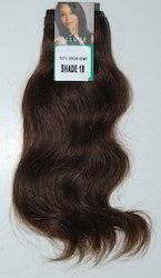 Extensions Machine Weft Wavy Remy Hair